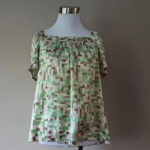 S / Banana Republic / SILK / Pullover Shirt